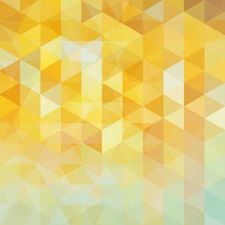shiny gold: abstract background consisting of triangles Illustration
