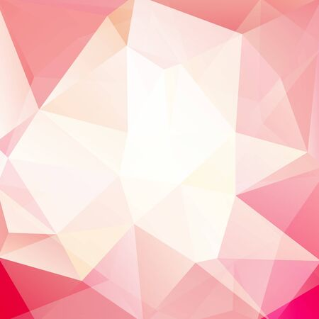 girl glasses: abstract background consisting of triangles Illustration