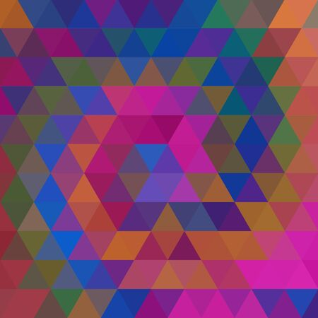colorul: abstract background consisting of triangles Illustration