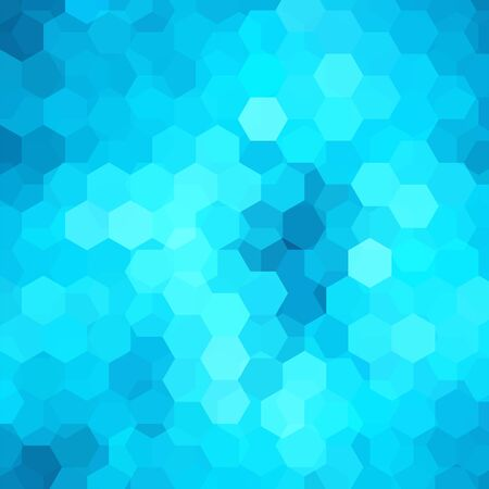 blue abstract wave: abstract background Illustration