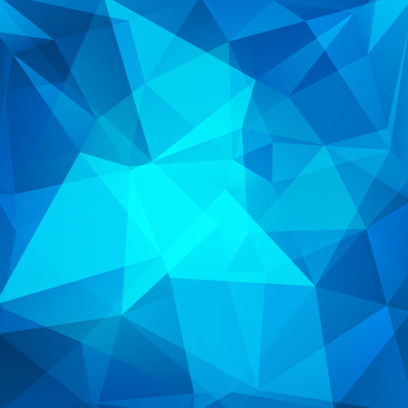 cyan business: abstract background consisting of triangles Illustration