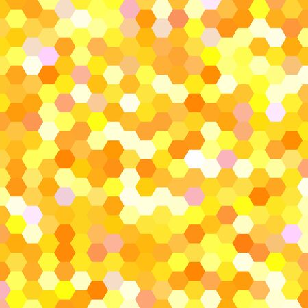 abstract background consisting of hexagons Vector