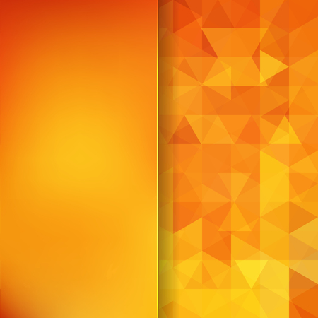 color pattern: abstract background consisting of triangles Illustration