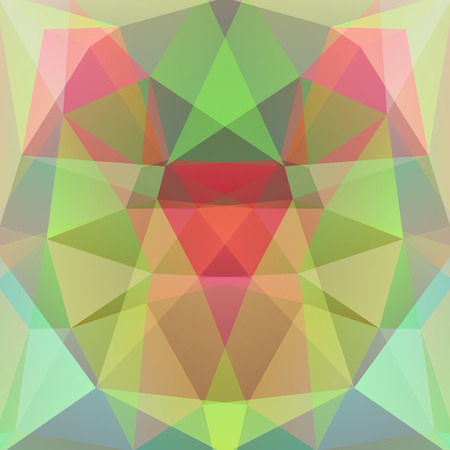 specular: abstract background consisting of triangles Illustration
