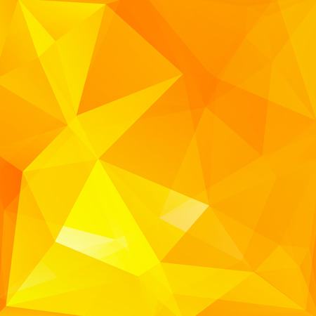 orange texture: abstract background consisting of triangles Illustration