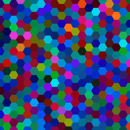abstract background consisting of hexagons Imagens - 39351689