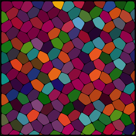 abstract background consisting of of geometrical shapes Vector