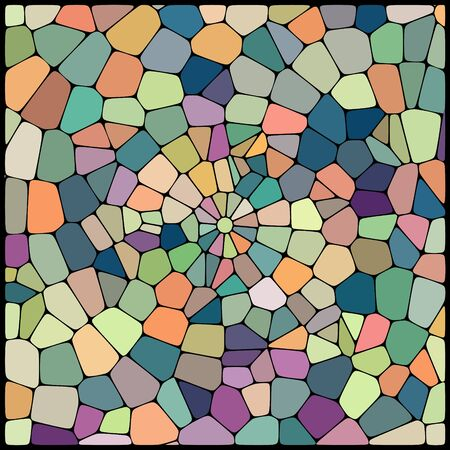 cobble: abstract background consisting of of geometrical shapes