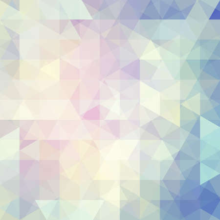 pastel backgrounds: abstract background consisting of triangles Illustration