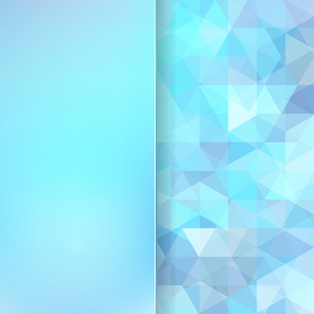 wave backdrop: abstract background consisting of triangles Illustration