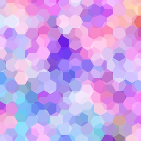 abstract background consisting of hexagons Illustration