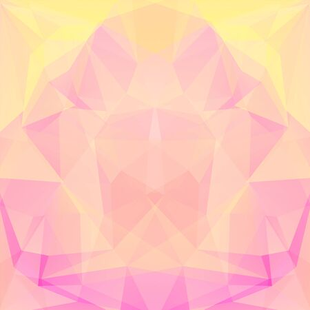 pastel colors: abstract background consisting of triangles Illustration