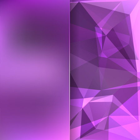 purple pattern: abstract background consisting of triangles Illustration