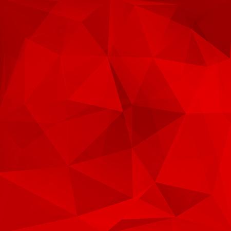 fondo rojo: fondo abstracto que consta de tri�ngulos