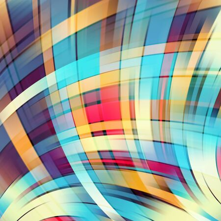 on smooth: Colorful smooth light lines background Illustration