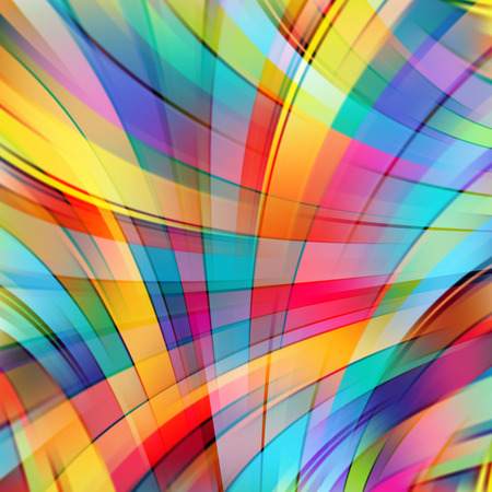 lines background: Colorful smooth light lines background Illustration
