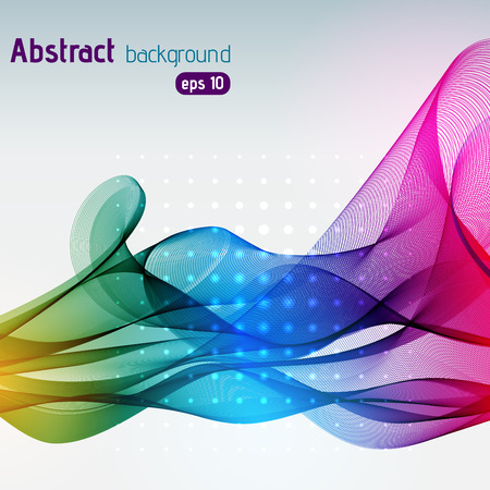 colorful: abstract background consisting of colorful line Illustration