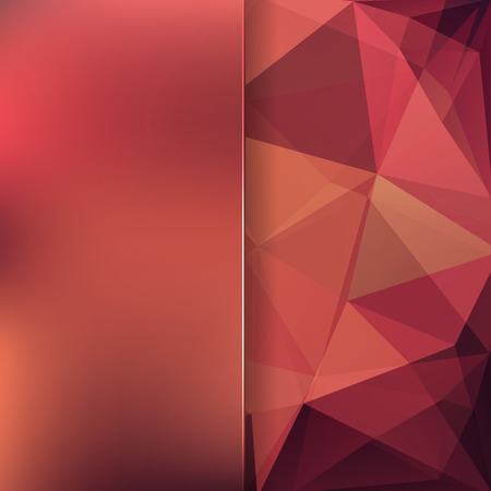 emplate: abstract background consisting of triangles Illustration