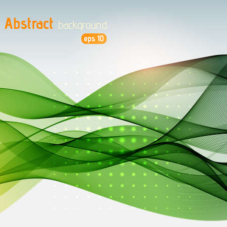 waves: abstract colorful waves background Illustration