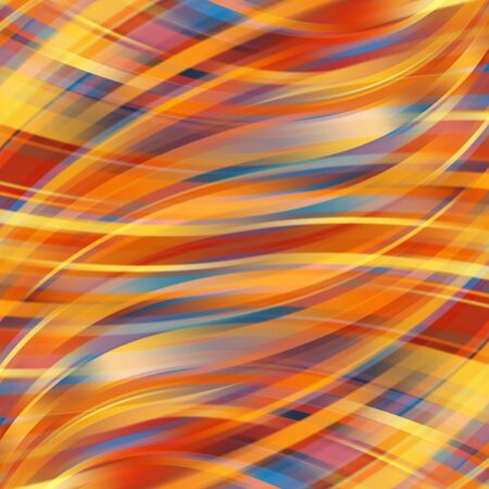 smooth: Colorful smooth light lines background Illustration