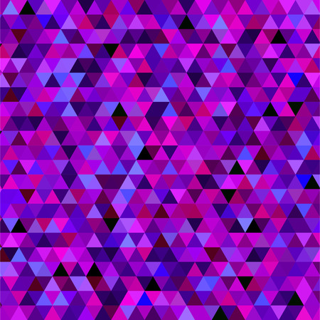 abstract background consisting of small  triangles