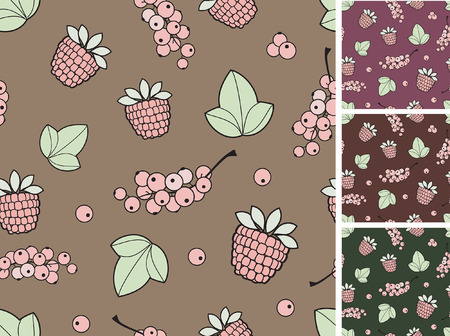 berry, seamless background
