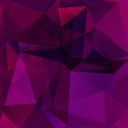crimson: abstract background consisting of triangles Illustration