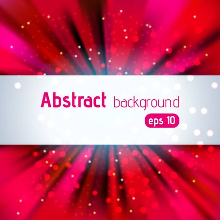 Abstract colorful vector background with space for text Vector