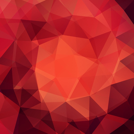 abstract background consisting of triangles Illustration