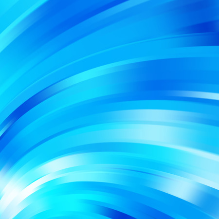 Colorful smooth light lines background. Vector illustration  イラスト・ベクター素材