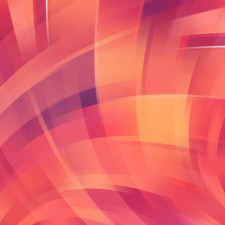 Colorful smooth light lines background. Vector illustration Vector