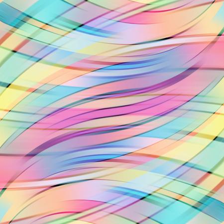 다채로운 부드러운 빛 라인 배경입니다. 벡터 일러스트 레이 션