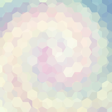 pastel backgrounds: abstract background consisting of hexagons Illustration