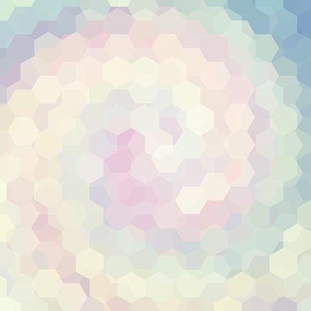abstrait composé d'hexagones