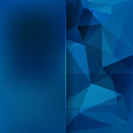 삼각형과 매트 유리로 이루어진 추상적 인 배경