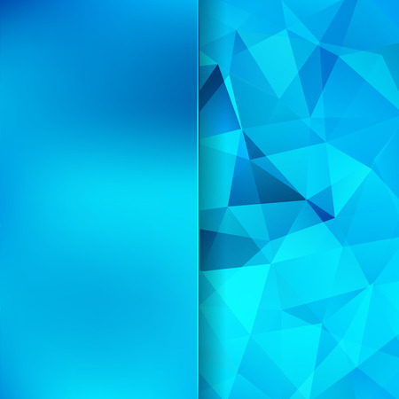 celadon blue: abstract background consisting of triangles and matt  glass