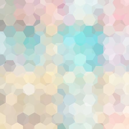 light pink: abstract background with hexagons