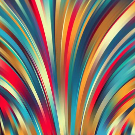 Colorful lignes lumineuses lisses fond. Vector illustration Vecteurs