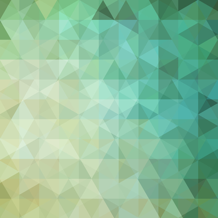 color image: abstract background consisting of triangles Illustration
