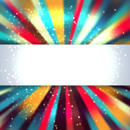 amarillo y negro: Colorful glowing lines background with place for text. Vector Illustration Vectores