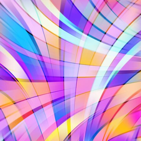 원활한: 다채로운 부드러운 빛 라인 배경입니다. 벡터 일러스트 레이 션