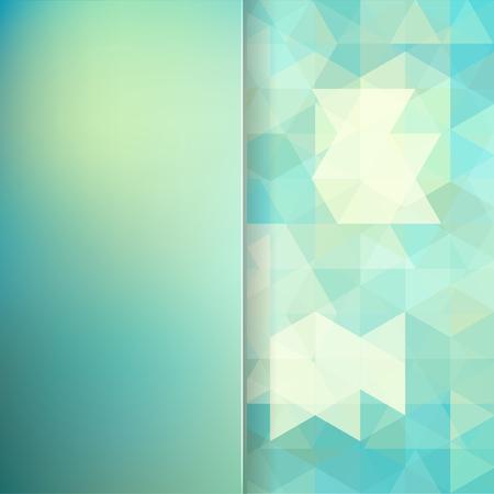 matt: abstract background consisting of triangles and matt  glass, vector illustration