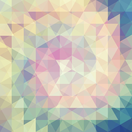 pastel backgrounds: abstract background consisting of triangles, vector illustration