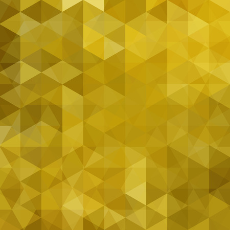 orange texture: abstract background consisting of triangles, vector illustration