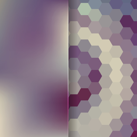 consisting: abstract background consisting of hexagons, vector illustration Illustration