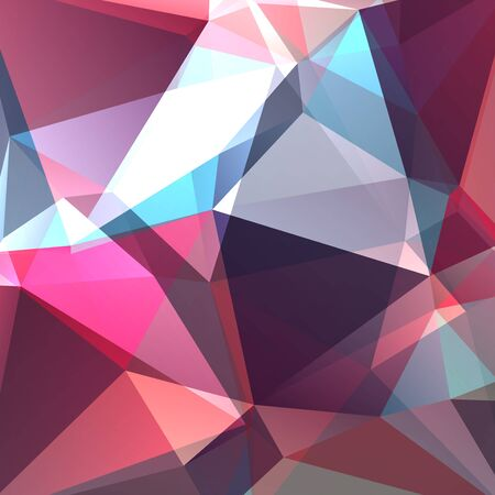 crystal glass: abstract background consisting of triangles, vector illustration
