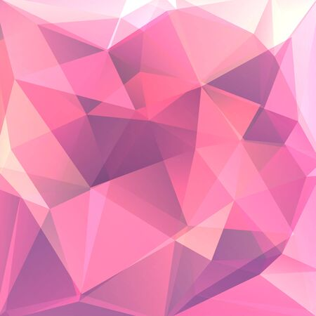 consisting: abstract background consisting of pink triangles, vector illustration