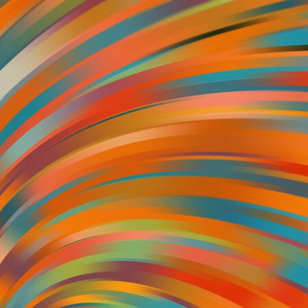 glossiness: Colorful smooth light lines background. Vector illustration Illustration