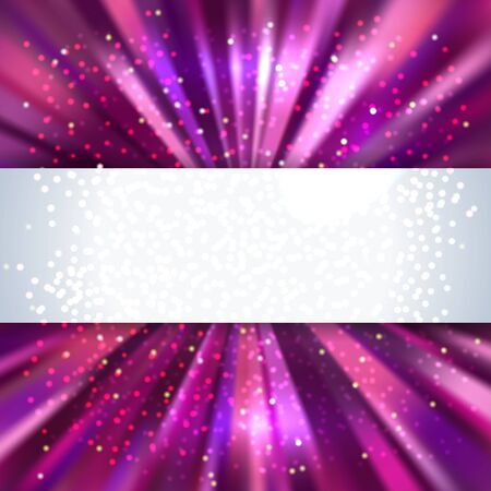 purple abstract colorful background with place for text, vector illustration Illustration