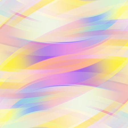 カラフルな滑らかな光のライン背景。ベクトル図 写真素材 - 43765921